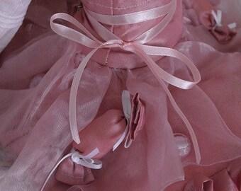 Tsukifly Pink Cotton Candy Skirt set