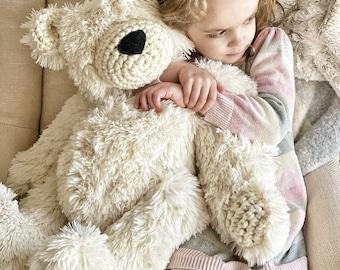 Polar Plush Minky Bear - ClaraLoo