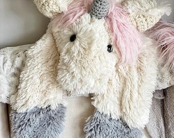 Unicorn Rug - Nursery Decor by ClaraLoo