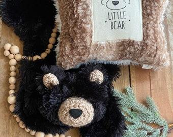 Black Bear Lovey - ClaraLoo