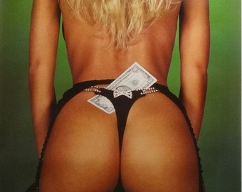 0e0e42310e5 Current Assets 23x35 80 s Pin Up Girl Poster 1988 Sam Maxwell