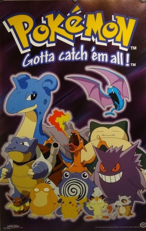 Blastoise Pokemon 23 x 35 y el Poster de Charizard Nintendo | Etsy