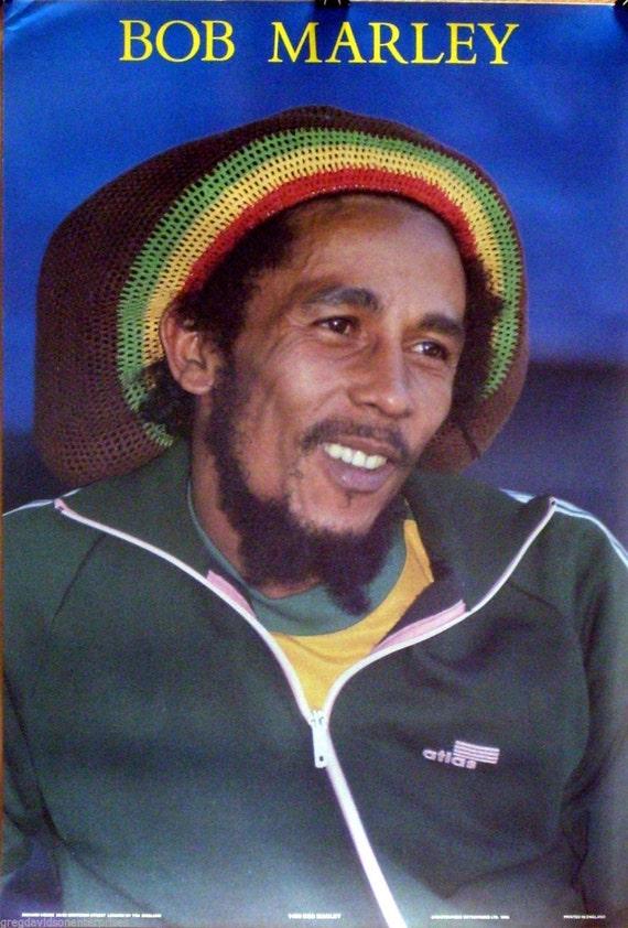 Bob Marley 23 x 35 cerrar cartel 1986 Reggae 1180 | Etsy