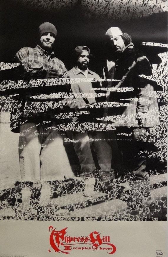 Cypress Hill III 23 x 35 templos del Boom música cartel 1996 | Etsy