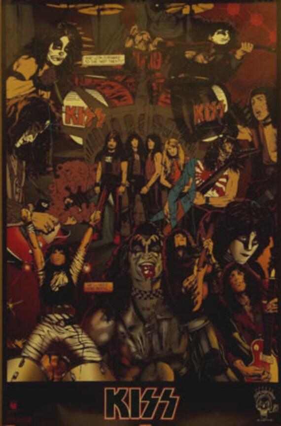 Ejército 23 x 35 siguiente 20 años cartel 1994 Gene Simmons de | Etsy