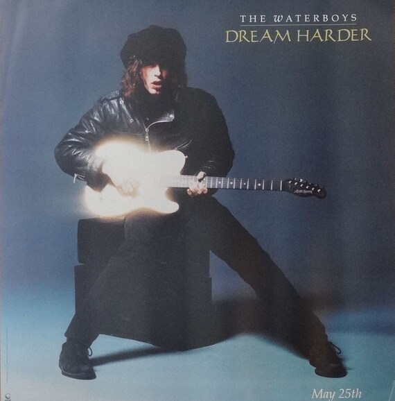 The Waterboys 25x24 Dream Harder Promo Poster 1993 Etsy