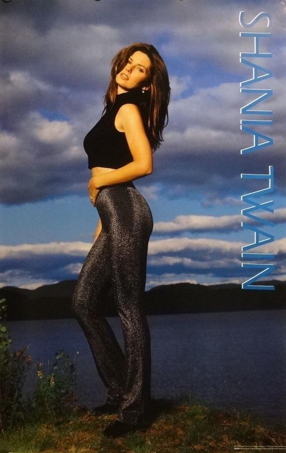 Shania Twain 23 x 35 frente al lago retrato música cartel | Etsy