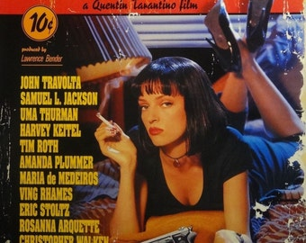 Pulp Fiction 27x40 Theatrical Movie Poster 1994 Miramax