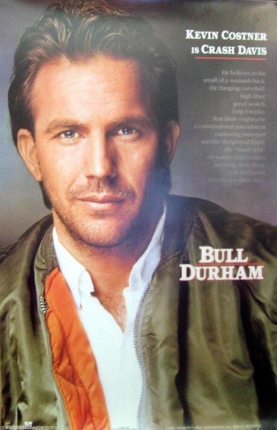 Bull Durham 23 x 35 Movie Poster 1988 Kevin Costner | Etsy