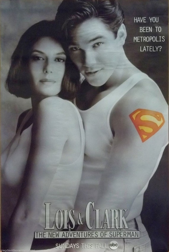 Lois y Clark 24 x 36 serie Premiere película Poster Superman | Etsy