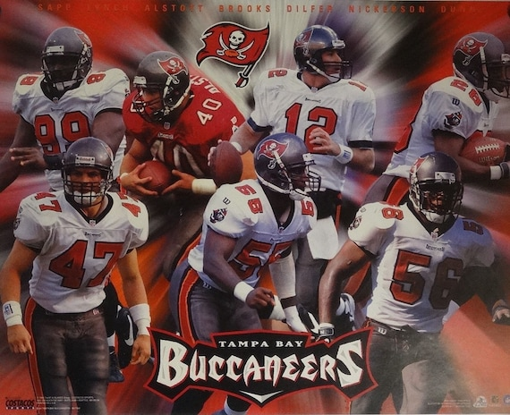 9d46a08e8 Tampa Bay Buccaneers 16x20 NFL Poster