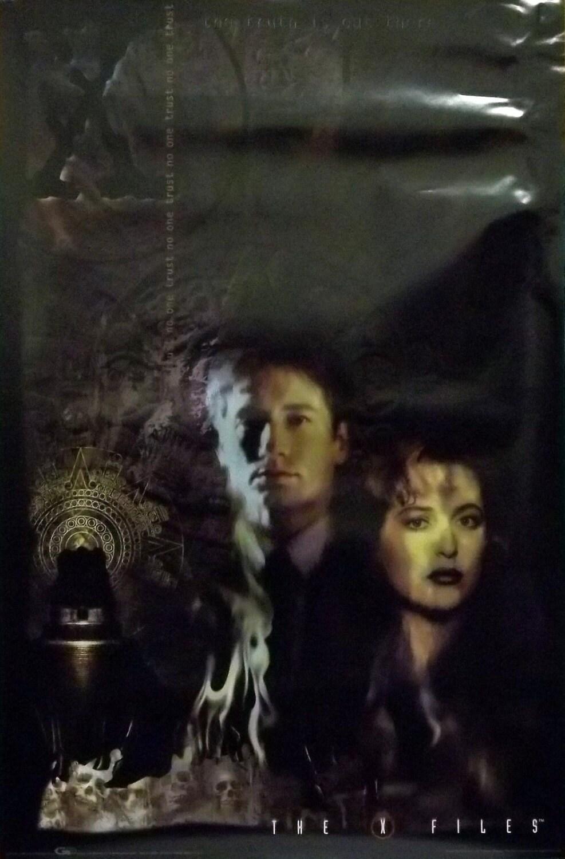 Expediente X 23 x 35 Anasazi templo cartel 1997 Scully y | Etsy