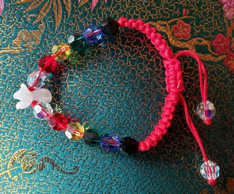 2021 6tw Crystal Radient Rat Bracelet  Adj. image 0