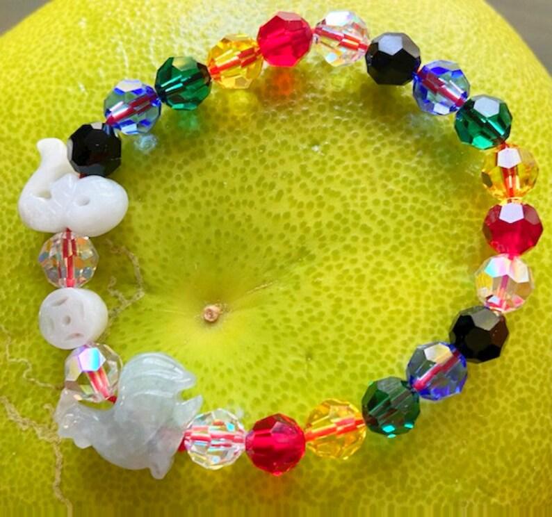 2021 Jade Combo Crystal Bracelet image 0