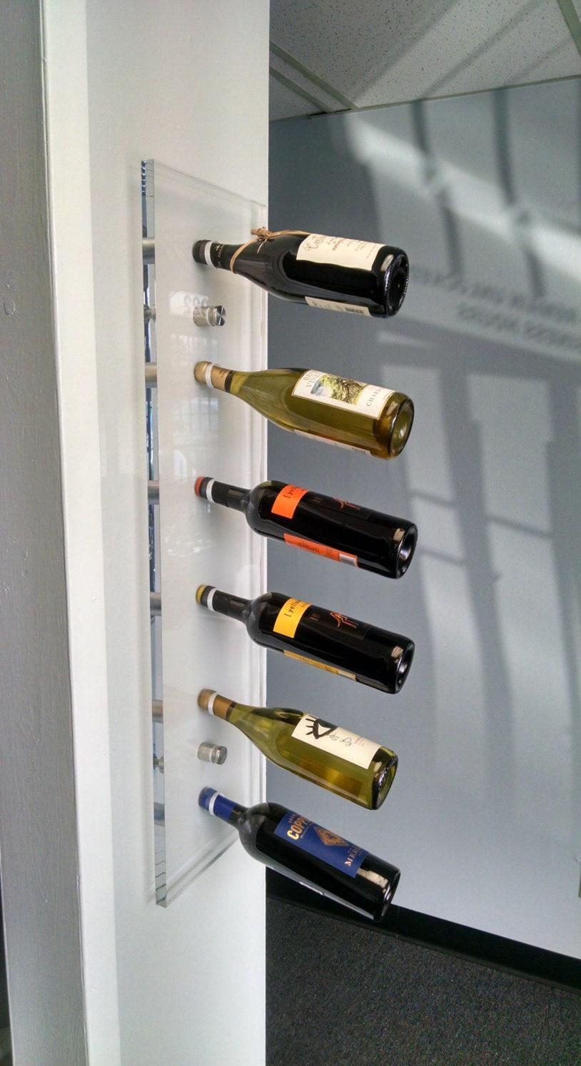 Acrylic Wine Rack Acrylic Furniture Wall Mounted Wine Rack