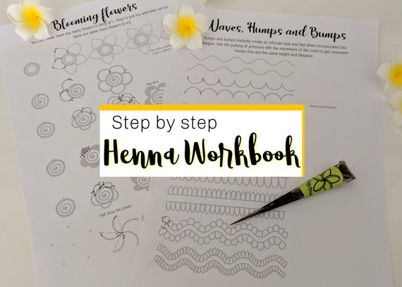 image regarding Henna Templates Printable identify Understand Henna Artwork Mehndi Strategies - Action via stage Consultant - Electronic Printable Worksheets - Develop Do-it-yourself practices - Momentary Tattoo Patterns e-Ebook