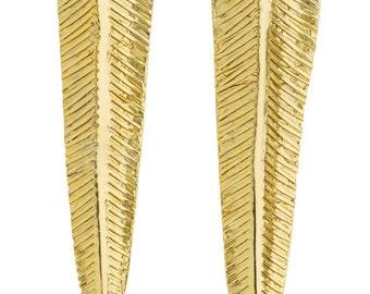 Fern Earrings designed by Alexandra Koumba