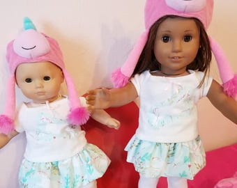 UNICORN 3 piece Outfit with Hat