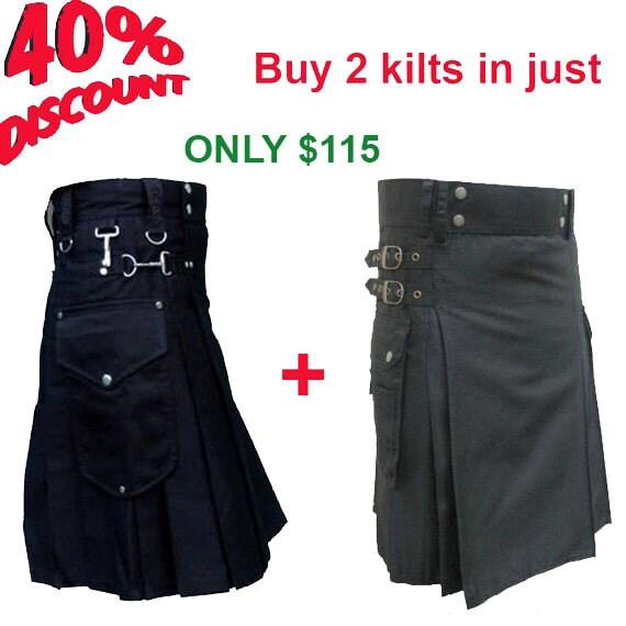 0f8c0482a Comprar 2 Utility faldas escocesas en apenas 115 USD tratan