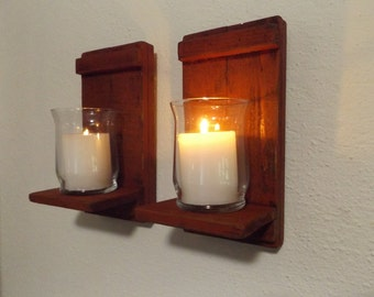 wall sconces with candles uttermost rustic candle sconce wood wall holder shabby chic sconce wall sconces etsy