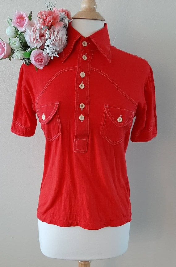 1970s Western style shirt