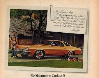 1985 Oldmsobile Olds Cutlass 442 Original Advertisement Print Art Car Ad D300