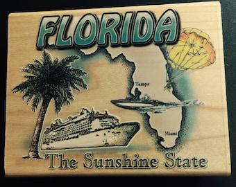 "Florida ""The Sunshine State"" Stamp"