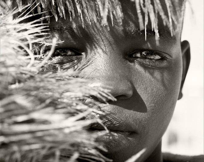 AFRICAN BOY PORTRAIT Print