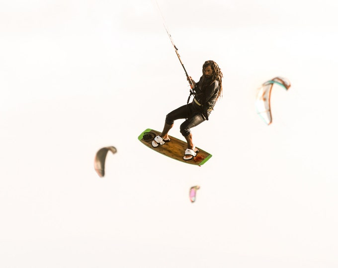 COLOUR KITESURFING PRINT