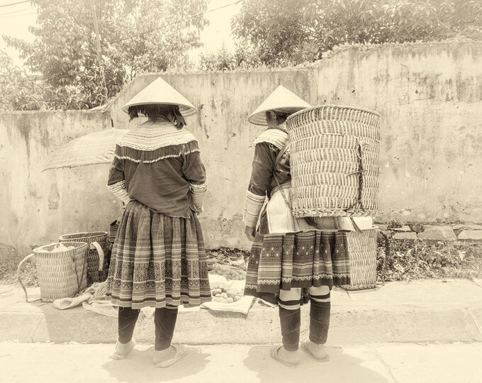 BLACK AND WHITE Vietnam Print