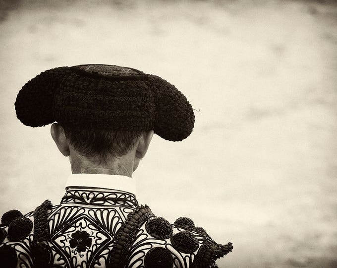BLACK AND WHITE Matador Print