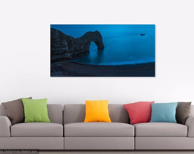 DURDLE DOOR PRINTS, Large Seascape Print,  Dorset Coastline, Jurassic Coast, Seascape Picture, Photographic Print