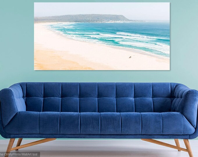 NOORDHOEK BEACH. Seascape Print, Cape Town, South Africa, Beach Print, Landscape Picture