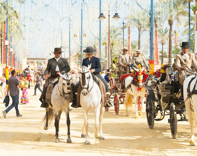 Horse Festival, Jerez Horse Festival, Spanish Print, Andalucia picture, limited edition print