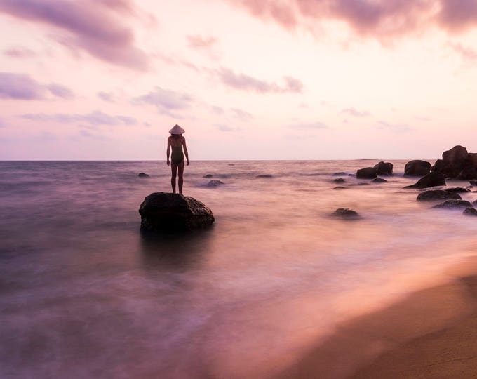 ISLAND DREAMS. Seascape Print, Vietnam, Phu Quoc Island, Travel Photography, Limited Edition, Large Print, Coastal Print