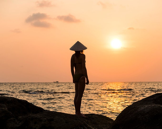 Phu Quoc Sunset. Sunset Print, Travel Picture, Vietnam Print, Summer, Limited Edition, Photographic Print