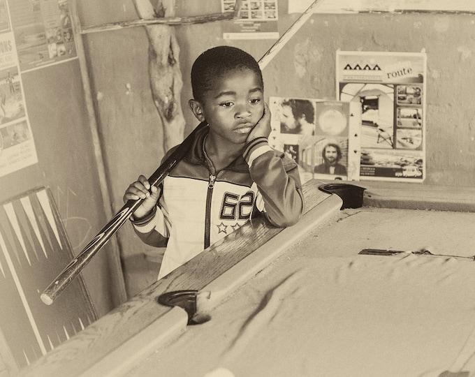 AFRICAN BOY PRINT