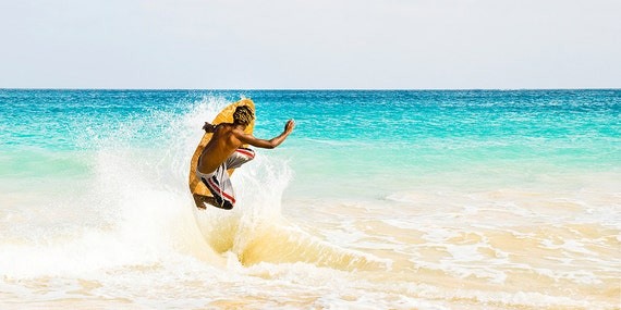 THE JUMP. Surf Print, Watersport Picture, Travel, Surfing, Cape Verde Print, Limited Edition, Photographic Print