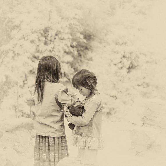 VIETNAM STORIES 19. Vietnam Prints, Child Portrait, Travel Photography, Square Print, Limited Edition Print, Photographic print