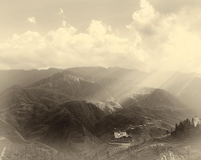 VIETNAM LANDSCAPE PRINT