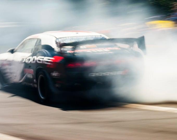 CAR RACING PRINT