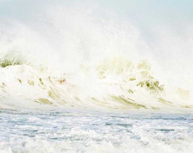 Large wave Breaking, Wave Prints, Ocean Waves,  Wave Wall Art, Ocean Prints, Breaking Waves, Large Wall Art, Seascape Print