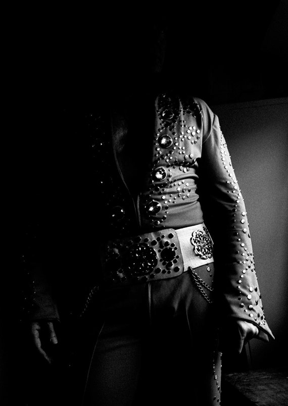 ELVIS PRESLEY. Elvis print, photographic print, black and white, limited edition print, monochrome print, large print