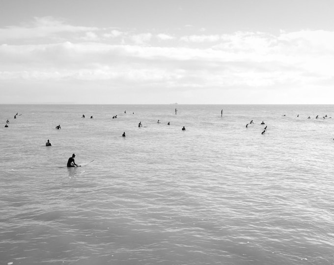 SURFING PRINT, Black and White Prints