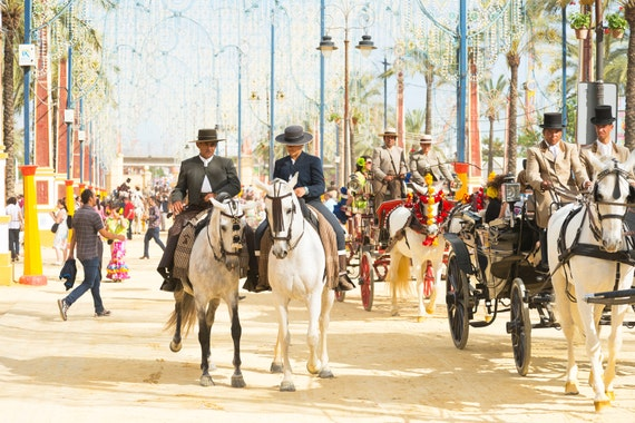 Horse Festival, Jerez Horse Festival, Spanish Print, Andalucia picture, limited edition print