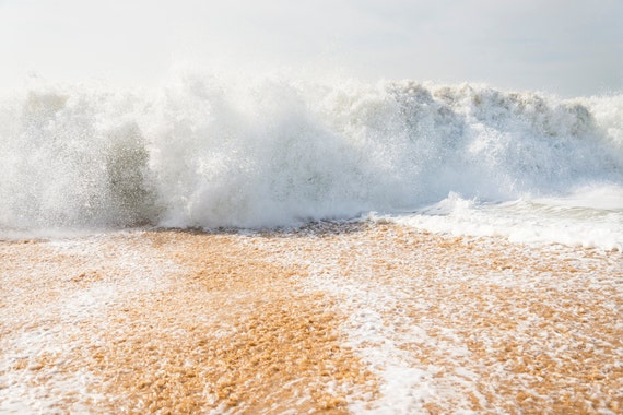 ZAHORA SHORE BREAK. Breaking Wave, Seascape Print, Ocean, Beaches, Action Picture, Photographic print.