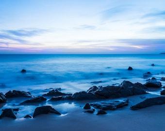 SEASCAPE PRINT, Tarifa Spain, Beach Print, Photographic print, Costa de La Luz