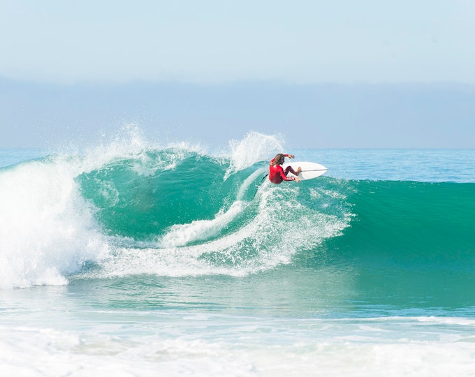 COLOUR SURFING PRINT
