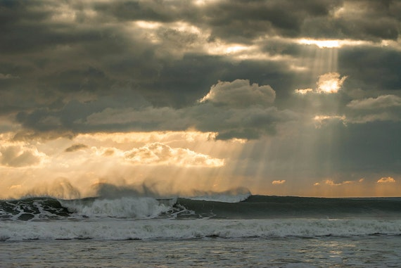 Kimmeridge Bay, waves,seascape,dramatic,photographic print,Dorset,UK,Limited Edition Print