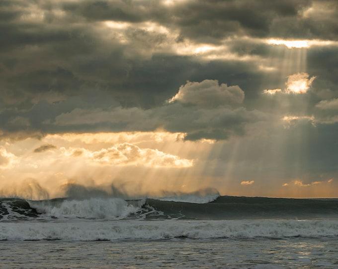 COLOUR SEASCAPE PRINT